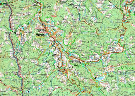 Mapy Compass Beskidy Informator Turystyczny